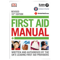 St John Ambulance First Aid Manual 10th Edition - P91119