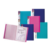 View more details about Snopake Electra Display Book 24 Pocket A4 Assorted (Pack of 10) 12219
