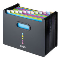 View more details about Snopake Eligo Landscape 13 Part Expanding File - 15174