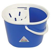View more details about Lucy 15 Litre Mop Bucket Blue L1405292
