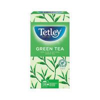 Tetley Pure Green Tea Bags, Pack of 25 - NWT207