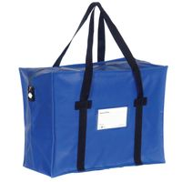 Go Secure Blue Courier Holdall - H2B