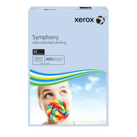 Xerox Symphony Pastel Blue A3 Paper, 80gsm - 500 Sheets - 62862