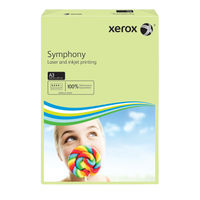 Xerox Symphony Pastel Green A3 Paper 80gsm - Pack of 500 - 003R91955