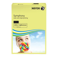 View more details about Xerox Symphony Pastel Yellow A3 Paper, 80gsm - 500 Sheets - 62879