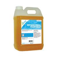 2Work Antibacterial Foam Soap (5 Litre) - 233