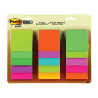 Post-it Rio and Miami 76x76mm Super Sticky Notes, Pack of 15 - 654-15SSMULTI2