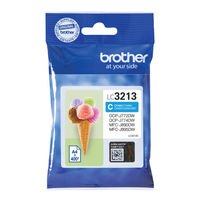 Brother LC3213 Cyan Ink Cartridge - High Capacity LC3213C