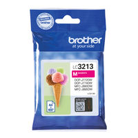 Brother LC3213 Magenta Ink Cartridge - High Capacity LC3213M