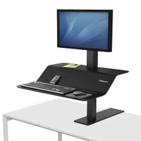 Fellowes Lotus VE Sit-Stand Workstation - Single - 8080101