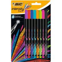 Bic Intensity Assorted Fineliner Pens, Pack of 8 - 942075
