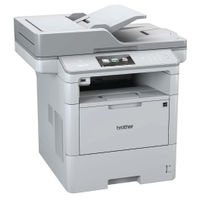 Brother Mono DCP-L6600DW Grey Multifunction Laser Printer - DCP-L6600DW