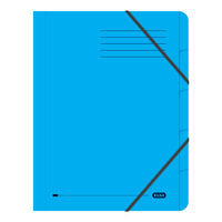 Elba Blue Strongline A4 5 Part File, 320gsm, Pack of 5 - 100090166
