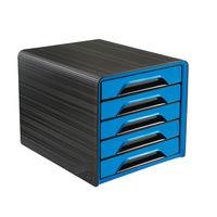 CEP Black/Blue Smoove 5 Drawer Module - 1071110351