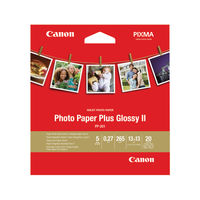 View more details about Canon Photo Paper Plus 5x5in 260gsm PP201 2311B060