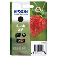 View more details about Epson 29 Black Ink Cartridge - C13T29814012