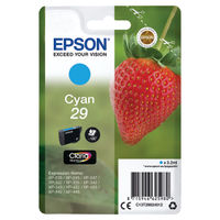 Epson 29 Cyan Inkjet Cartridge - C13T29824012