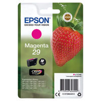 View more details about Epson 29 Magenta Inkjet Cartridge - C13T29834012