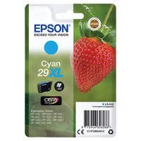 Epson 29XL Cyan Inkjet Cartridge - C13T29924012