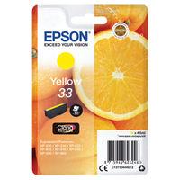 Epson 33 Yellow Ink Cartridge - C13T33444012