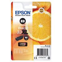 Epson 33XL Photo Black Ink Cartridge - High Capacity C13T33614012