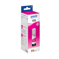 Epson 106 Magenta EcoTank Ink Bottle - C13T00R340