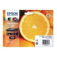 Epson 33 Black and Colour Ink Cartridge Multipack - C13T33374011