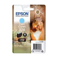 Epson 378 Light Cyan Ink Cartridge - C13T37854010