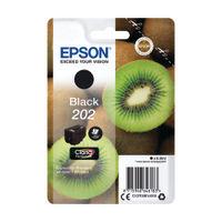 Epson 202 Black Ink Cartridge - C13T02E14010