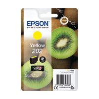 Epson 202 Yellow Inkjet Cartridge - C13T02F44010