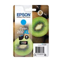 Epson 202XL Cyan Inkjet Cartridge - C13T02H24010