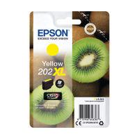 Epson 202XL Yellow Inkjet Cartridge - C13T02H44010