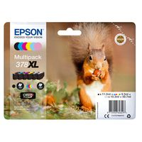 Epson 378XL Black and Colour Ink Multipack - High Capacity C13T37984010