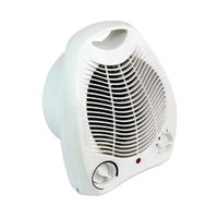 2kW Portable Fan Heater with 2 Heat Settings - HID52553