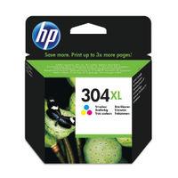 HP 304 XL Tri-Colour Ink Cartridge - High Capacity N9K07AEBGX