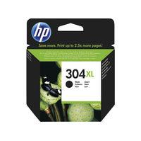 HP 304 XL Black Ink Cartridge - High Capacity N9K08AEBGX