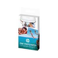 HP ZINK Sticky Backed Photo Paper, Pack of 20 - W4Z13A