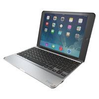 Zagg Slim Book Case with Keyboard, Black, iPad Mini - IM2ZF2-BBU