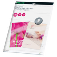 Leitz A3 iLAM Premium Laminating Pouches, Pack of 25 - 74890000