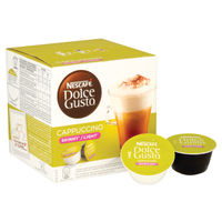Nescafe Dolce Gusto Skinny Cappuccino Capsules, Pack of 48 - 12051233