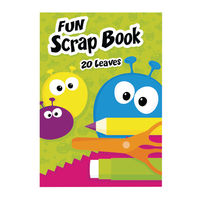 View more details about Fun A4 Scrap Book, 20 Leaves, Pack of 10