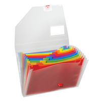 View more details about Snopake Rainbox A4 Expanding Organiser - 15768