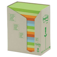 Recycled 76 x 127mm Post-it Notes Tower, Pack of 16 - 3M00699
