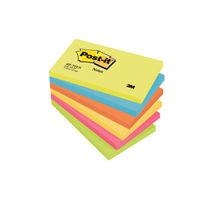 Post-it 76 x 127mm Energy Colour Notes, Pack of 6 - 665-TF