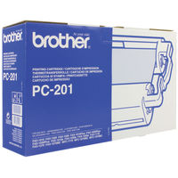 Brother TTR Black Fax Ribbon Cartridge - PC201