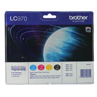 Brother LC-970 Ink Cartridge Value Pack - LC970VALBP