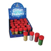 Bright Ideas Assorted Glitter Shakers, Pack of 30 - 81367177