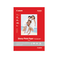 View more details about Canon Glossy Photo Paper A4 200gsm (Pack of 20) 0775B082