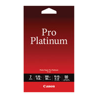 View more details about Canon Pro Platinum Photo Paper 4 x 6 Inch (Pack of 50) 2768B014