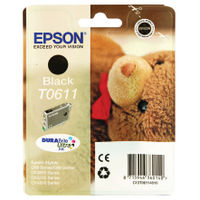 Epson T0611 Black Ink Cartridge - C13T06114010